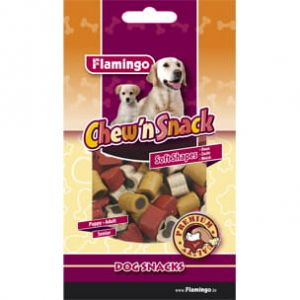 FLAMINGO - Snack Beef&Chicken - CHEW'N SNACK MEAT MIX 150 G